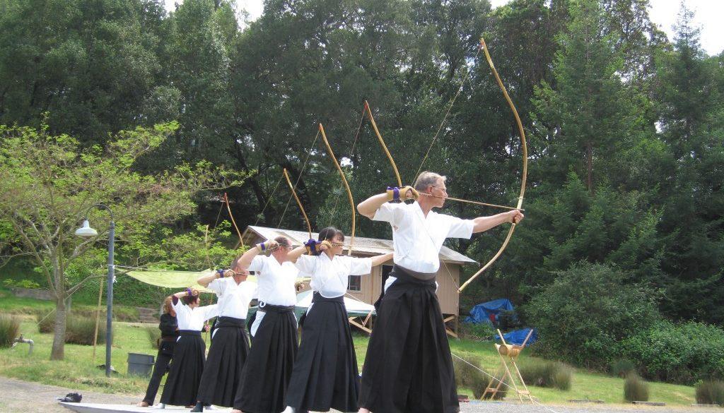 l'art du tir à l'arc zen et lâcher prise